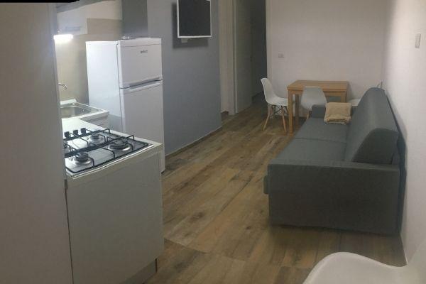 Cucina-soggiorno Bilocale Cavour