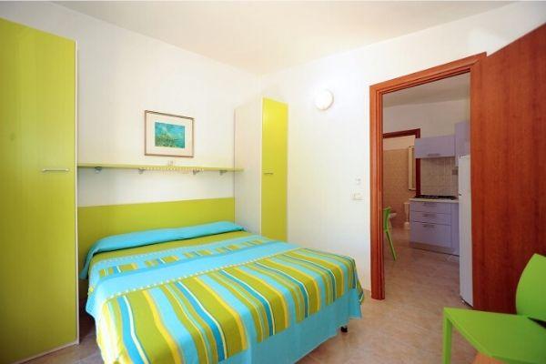 Camera da letto Villino Bilocale