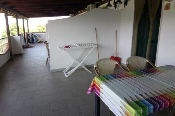 Veranda attico superior