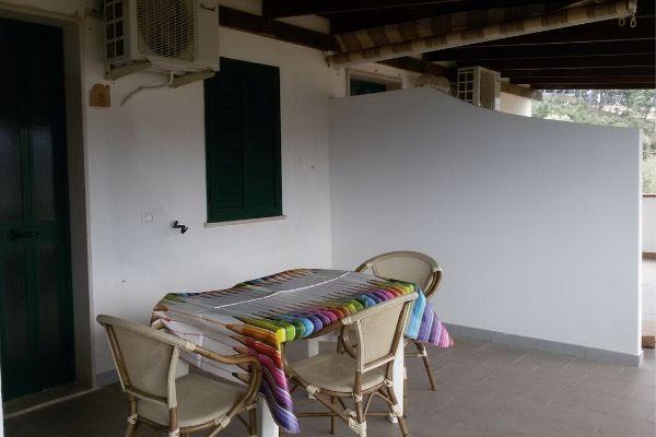 Veranda bilocale attico